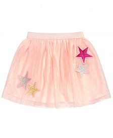 Epic Threads Little Girls Star Tulle Skirt, Created for Macy's