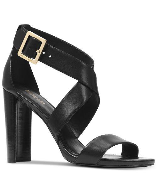8b6680f9893ab Michael Kors Women s Shia Dress Sandals   Reviews - Sandals ...