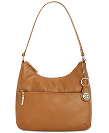 Giani Bernini Nappa Leather Hobo Bag, Created for Macy's