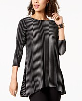 25d799526e1 Alfani Printed High-Low Tunic, Created for Macy's