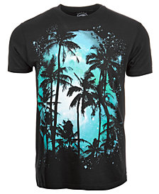 Palm Tree Men's T-Shirt by Univibe