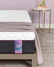 "Sealy to Go 12"" Cushion Firm Hybrid Mattress - Quick Ship, Mattress in a Box"