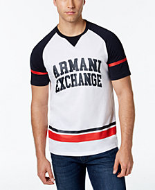 A|X Armani Exchange Men's Varsity Logo T-Shirt, Created for Macy's