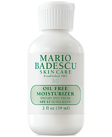 Mario Badescu Oil Free Moisturizer With SPF 17, 2-oz.