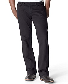 559 Relaxed Straight-Fit Black Jeans