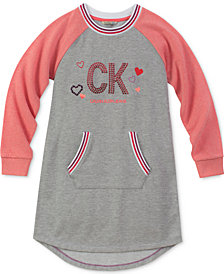 Calvin Klein Big Girls Sporty Logo Dress
