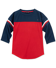 Tommy Hilfiger Big Girls Colorblocked T-Shirt