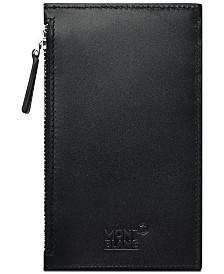 Montblanc Men's Meisterstück Black Leather Pocket Card Holder