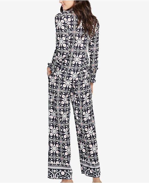Black Leg Created Combo Roy RACHEL Rachel Wide Macy's for Printed Pants 4z7IqO7
