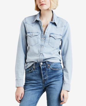 COTTON ULTIMATE WESTERN DENIM SHIRT