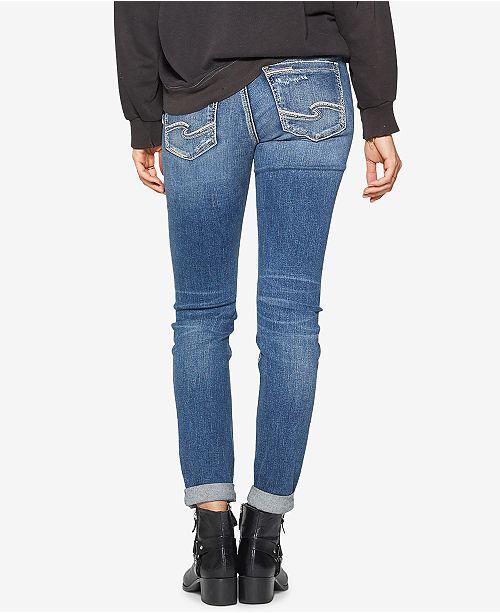 83b9aa2f Silver Jeans Co. Sam Slim Fit Jeans - Jeans - Juniors - Macy's