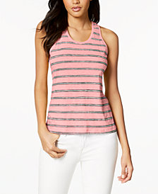 Lacoste Cotton Blend Tank Top