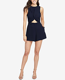 RACHEL Rachel Roy Daya Twisted Cutout Romper, Created for Macy's