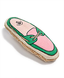 Harry Barker Large Canvas Boat Shoe Toy