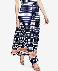 RACHEL Rachel Roy Striped Maxi Skirt, Created for Macy's