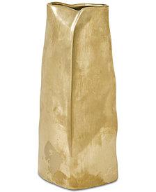 Madison Park Signature Ramsay Ceramic Gold Vase