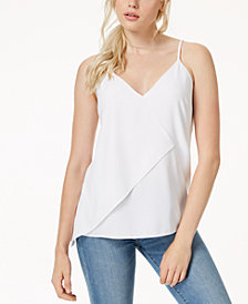 Bar III Asymmetrical Tank Top, Created for Macy's