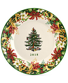 Spode Christmas Tree Annual 8'' Collectors Plate