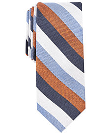 Tallia Men's Ericson Stripe Slim Tie
