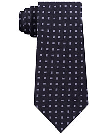 Michael Kors Men's Neat Slim Silk Tie