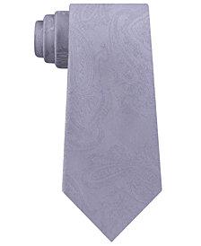 Michael Kors Men's Paisley Slim Silk Tie