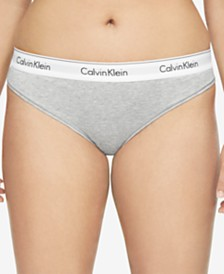 Calvin Klein Plus Size Modern Cotton Thong QF5117