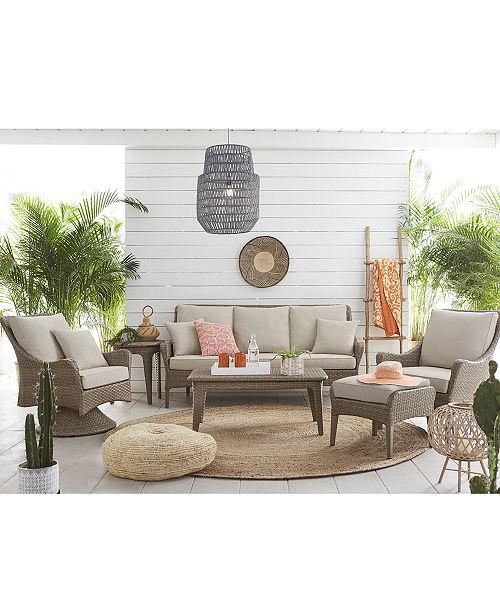 Indoor Outdoor Flat Rattan Sofa