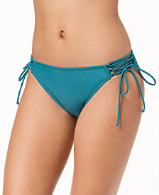 Hula Honey Juniors' Side-Tie Bikini Bottoms, Created for Macy's