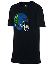 Nike Big Boys Helmet-Print T-Shirt