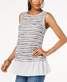 I.N.C. Layered-Look Top, Created for Macy's
