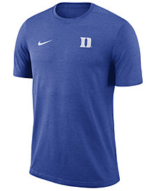 Nike Men's Duke Blue Devils Dri-Fit Coaches T-Shirt