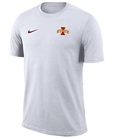 Nike Men's Iowa State Cyclones Dri-Fit Coaches T-Shirt