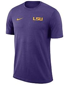 Nike Men's LSU Tigers Dri-Fit Coaches T-Shirt