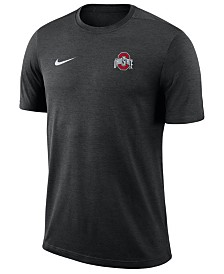 Nike Men's Ohio State Buckeyes Dri-Fit Coaches T-Shirt