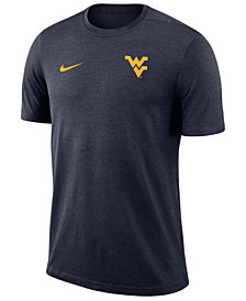 Nike Men's West Virginia Mountaineers Dri-Fit Coaches T-Shirt