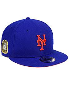 New Era New York Mets Title Trim 9FIFTY Snapback Cap