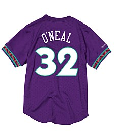 Mitchell & Ness Men's Shaquille O'Neal NBA All Star 1995 Mesh Crew Neck Jersey