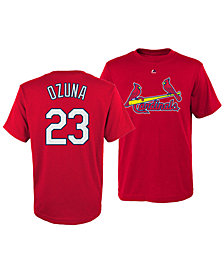 Majestic Marcell Ozuna St. Louis Cardinals Official Player T-Shirt, Little Boys (4-7)