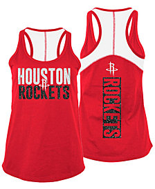 5th & Ocean Women's Houston Rockets Glitter Tank