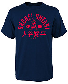 Outerstuff Shohei Ohtani Los Angeles Angels Ohtani Heritage T-Shirt, Big Boys (8-20)
