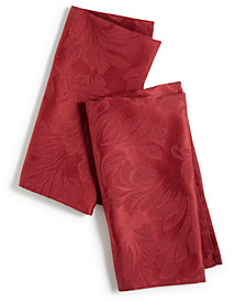 Martha Stewart Collection Leaf Napkins, Set of 2