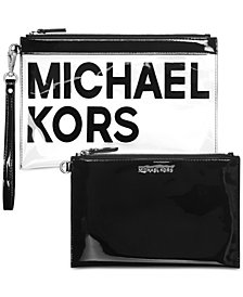 MICHAEL Michael Kors Travel Translucent Pouch Duo