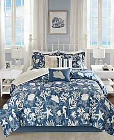 Madison Park Cape Cod 7-Pc. Queen Comforter Set