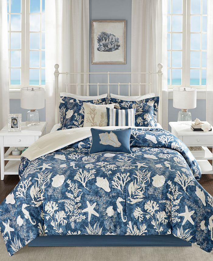 Madison Park - Cape Cod 7-Pc. King Comforter Set