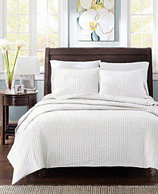 Madison Park Keaton 3-Pc. Quilted Full/Queen Coverlet Set