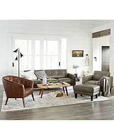 Montrose Leather Sofa Collection, Created for Macy's