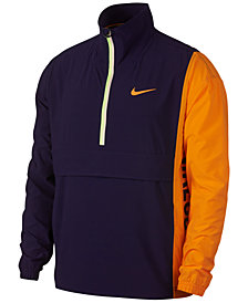 Nike Men's Court Repel Colorblocked Half-Zip Jacket