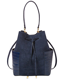 Lauran Ralph Lauren Dryden Debby Small Drawstring Bucket Bag, Created for Macy's
