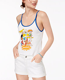 Freeze 24-7 Juniors' Cotton '90s Nickelodeon Tank Top