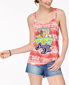 Freeze 24-7 Juniors' Scooby-Doo Graphic Tank Top
